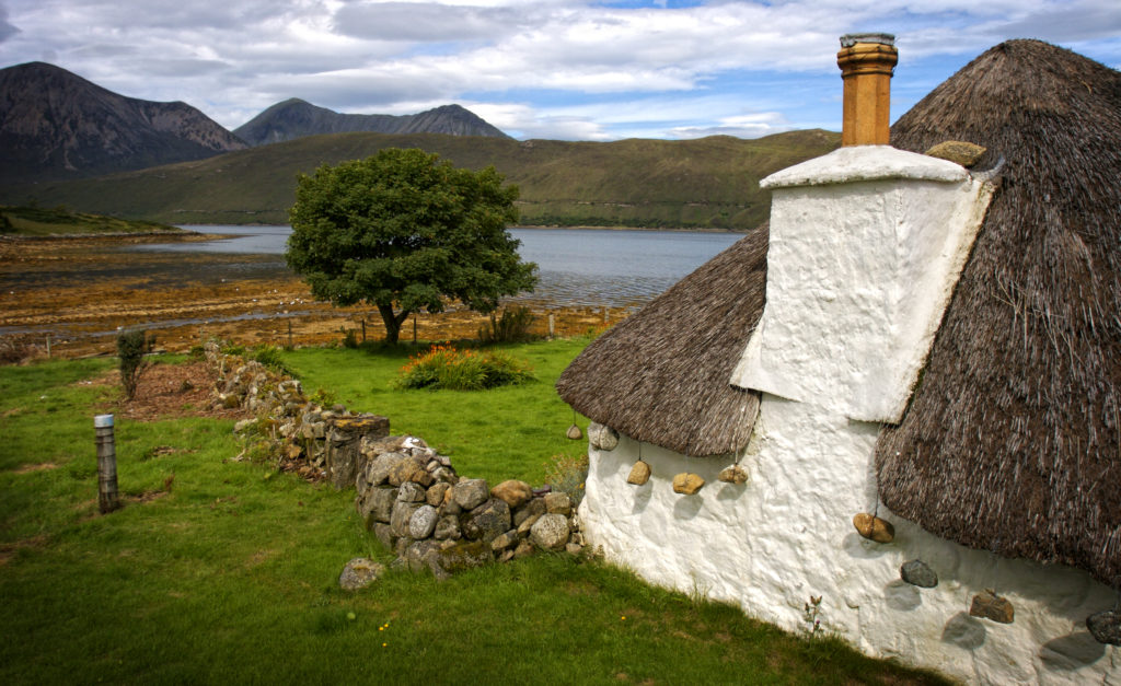 House on the Isle of Skye, Scotland